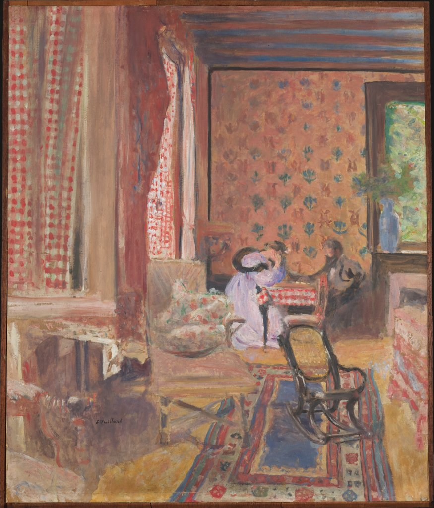 At the Board Game, Édouard Vuillard