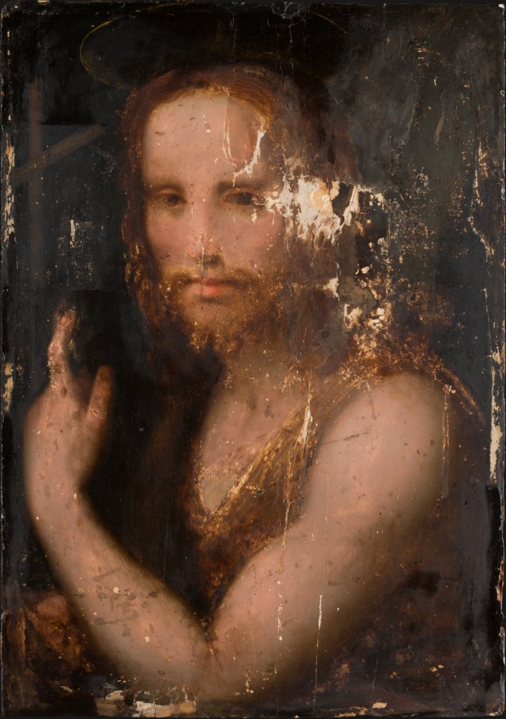Saint John the Baptist, Andrea del Sarto  circle ?