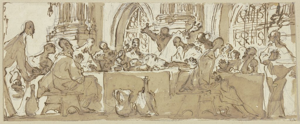 The Last Supper, Andrea Ansaldo