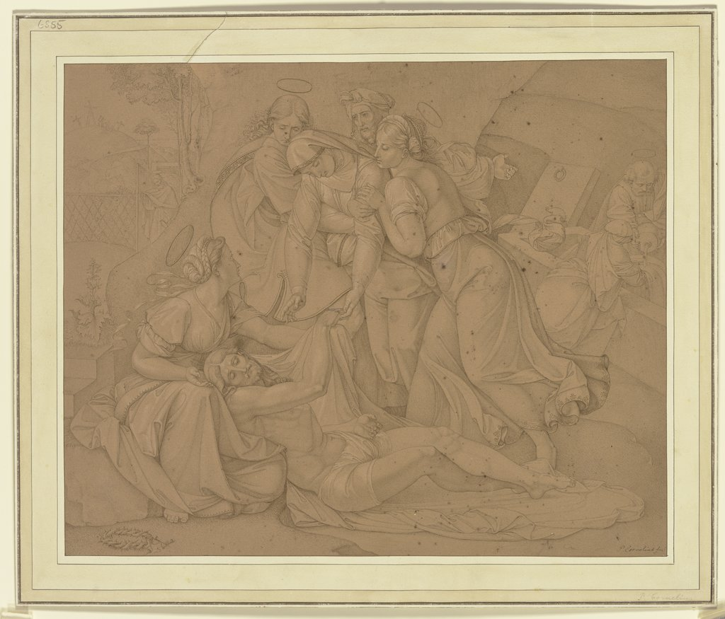 Entombment of Christ, Peter von Cornelius