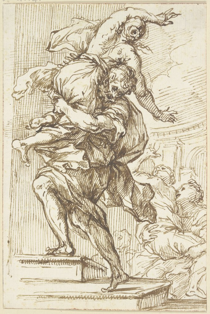 Abduction of the Sabine women, Pietro da Cortona