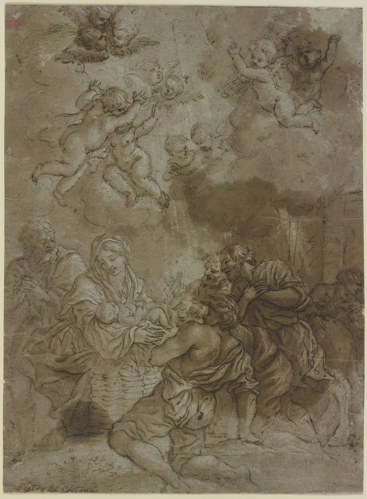 Adoration of the shepherds, Pietro da Cortona   ?