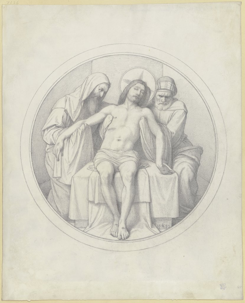 Entombment of Christ, Edward von Steinle