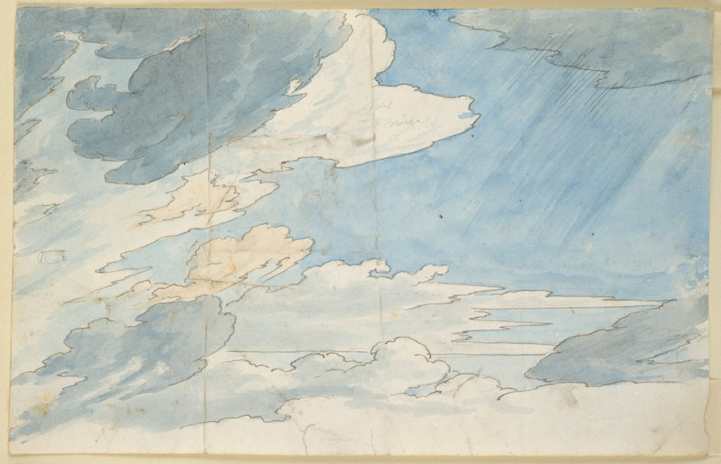 Cloud Study, Carl Philipp Fohr