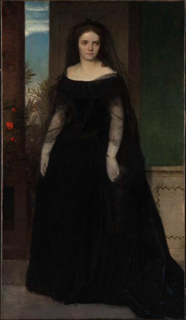 Portrait of the Actress Fanny Janauschek, Arnold Böcklin