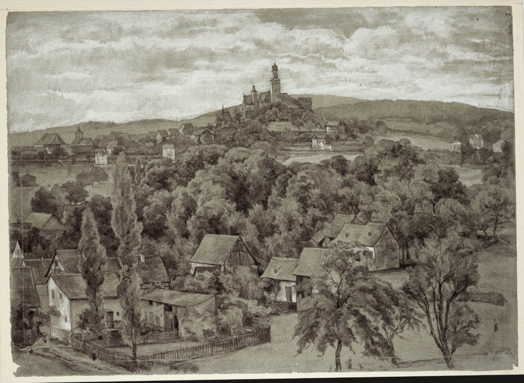 View of Kronberg, Louis Eysen