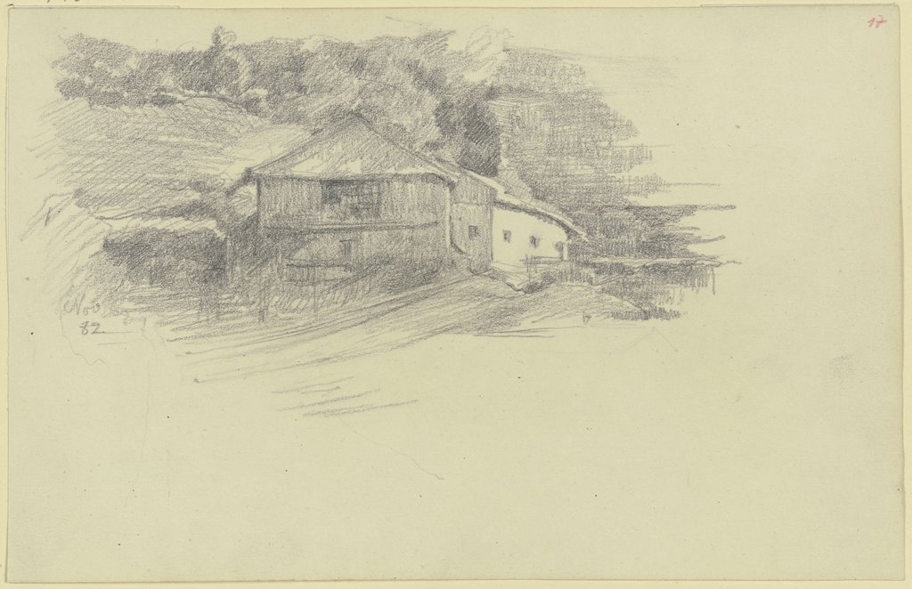 Farmstead in South Tirol, Louis Eysen