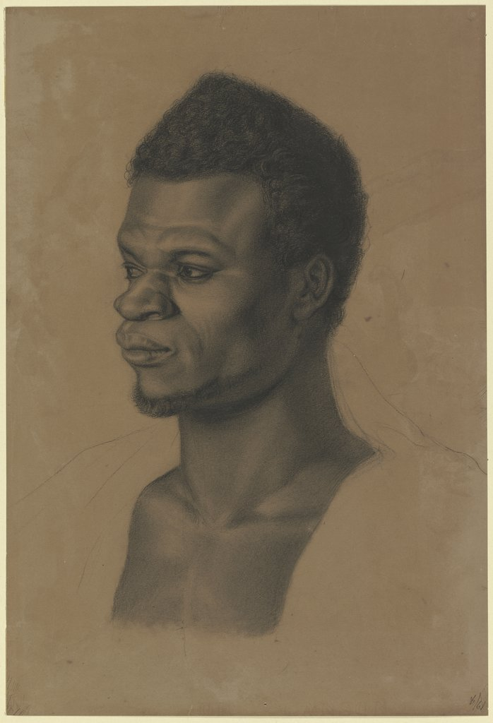 Head of a black man, Louis Eysen