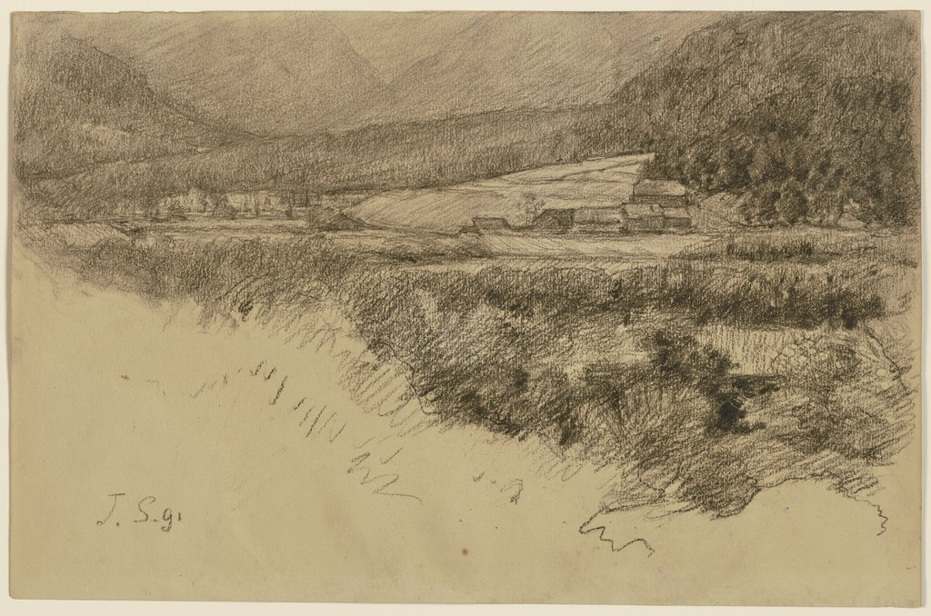 The grounds of Toblach, Louis Eysen