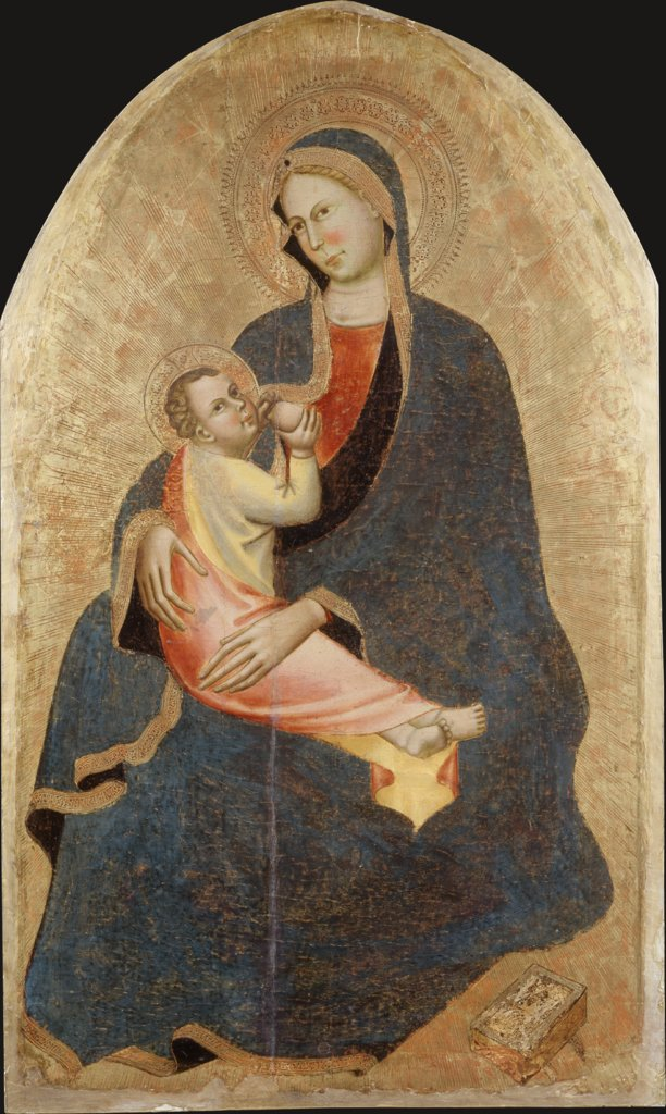 Madonna and Child, Maestro di Sant'Ivo