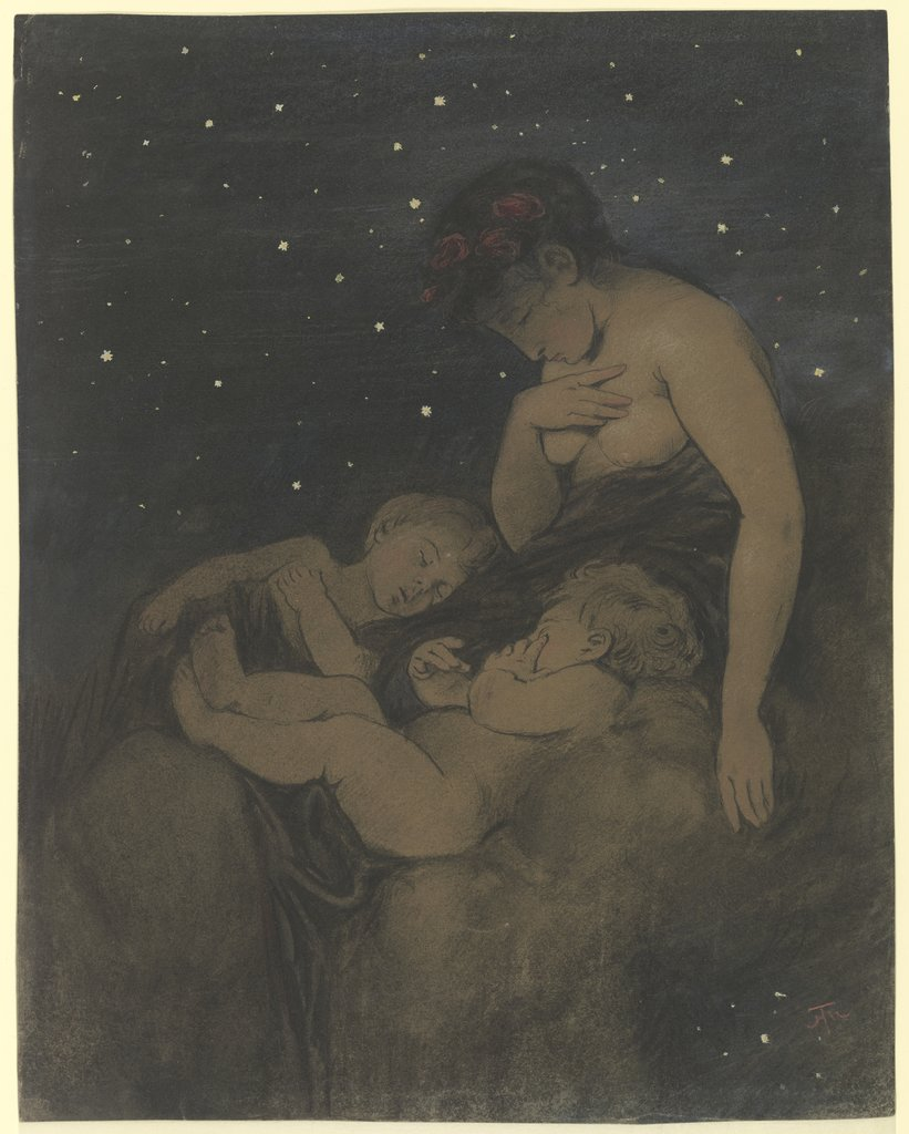 The Night, Hans Thoma