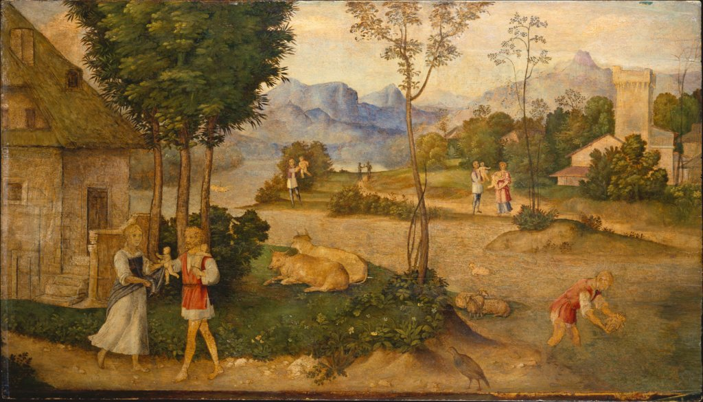 The Finding of Romulus and Remus, Giorgione  succession