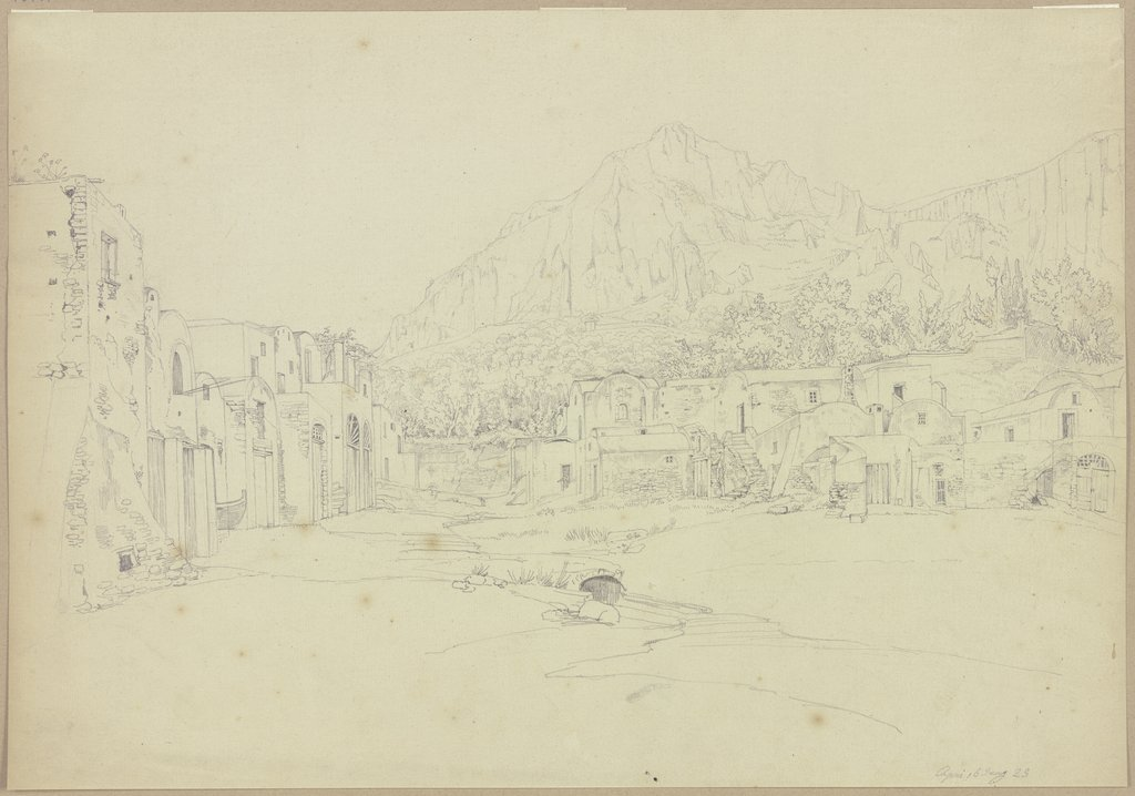 Platz in Capri, Johannes Thomas