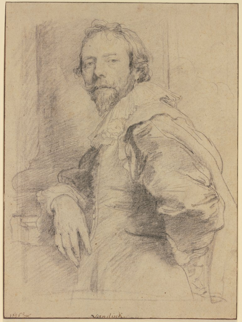 Bildnis des Adam de Coster, Anthony van Dyck