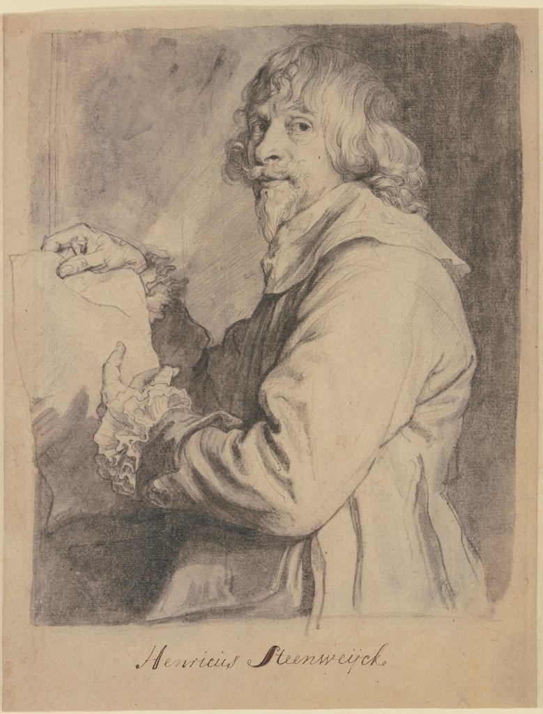 Portrait of Hendrick van Steenwyck the Younger, Anthony van Dyck