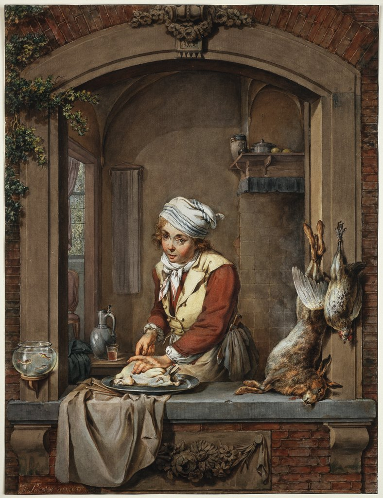 Kitchen boy, Jacobus Johannes Lauwers