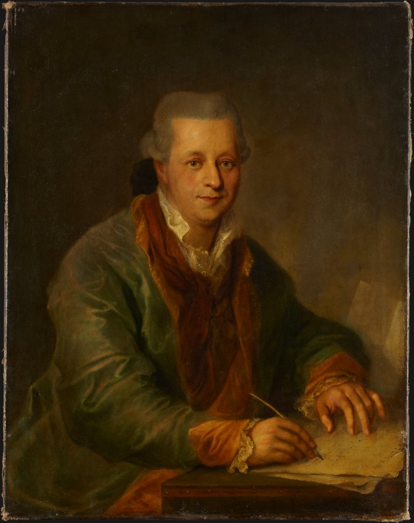 Portrait of a Composer, German Master of the Last Quarter of the 18th Century