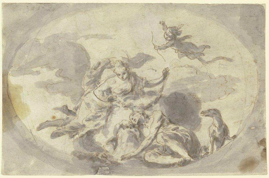 Diana and Endymion, Italian, 18th century
