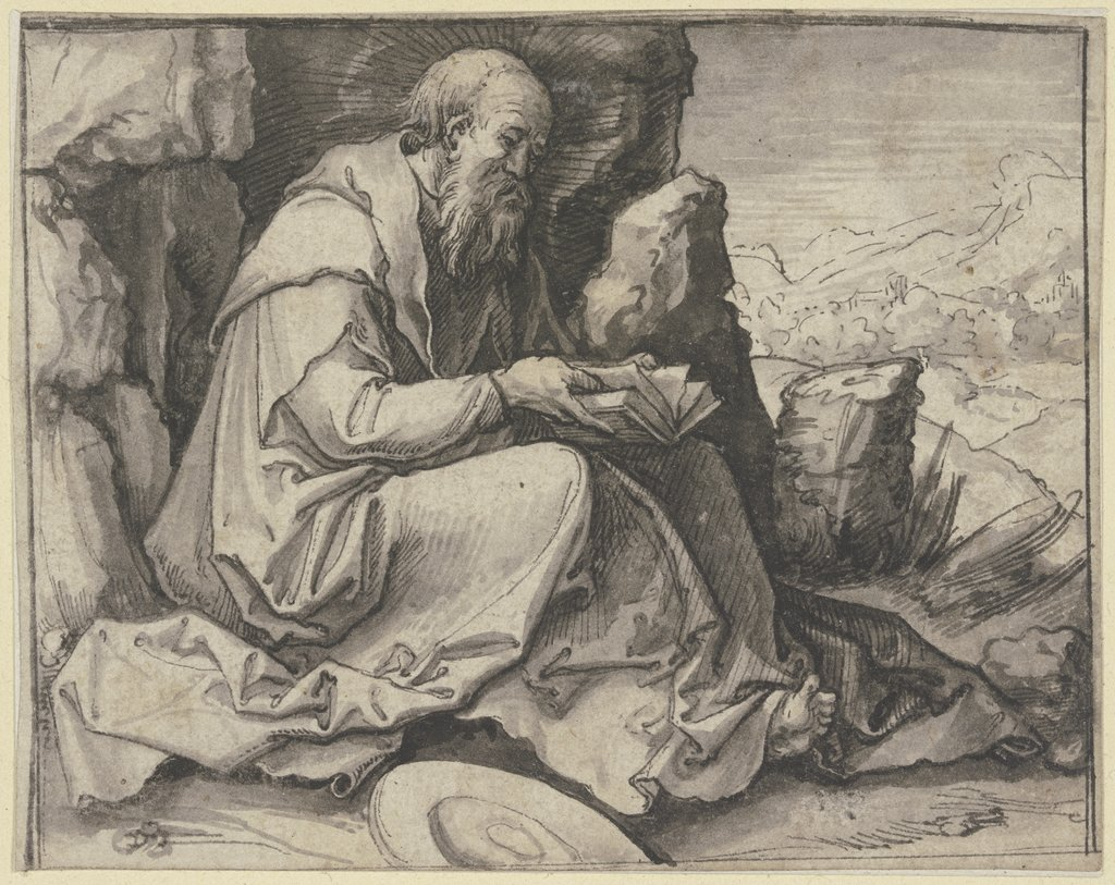 Saint Jerome, Unknown, 16th century