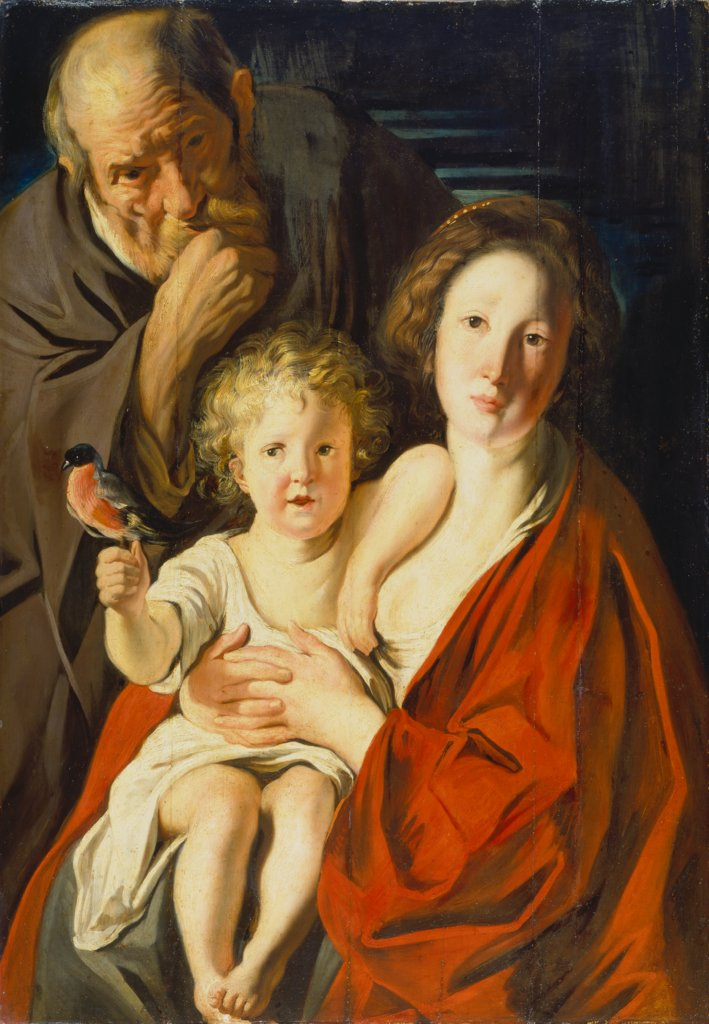 The Holy Family, Jacob Jordaens, Jacob Jordaens  Werkstatt ?