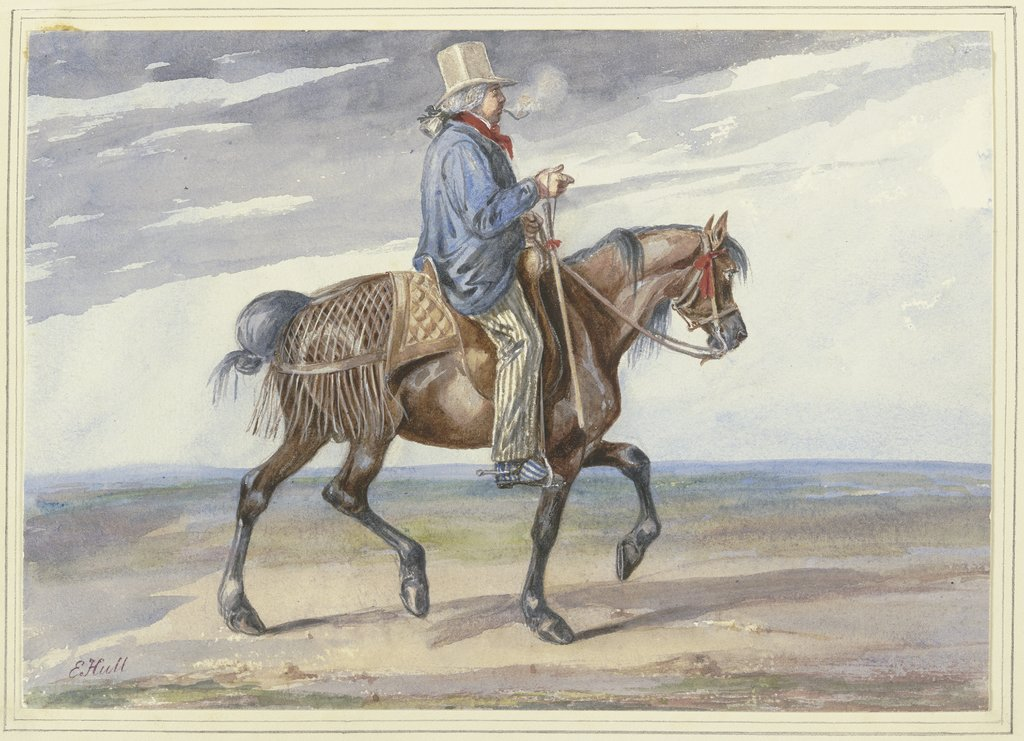 Riding farmers, Edward Hull