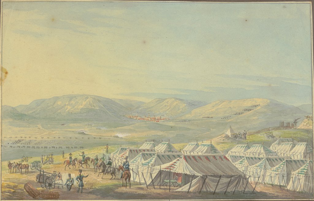 Encampment, German, 19th century