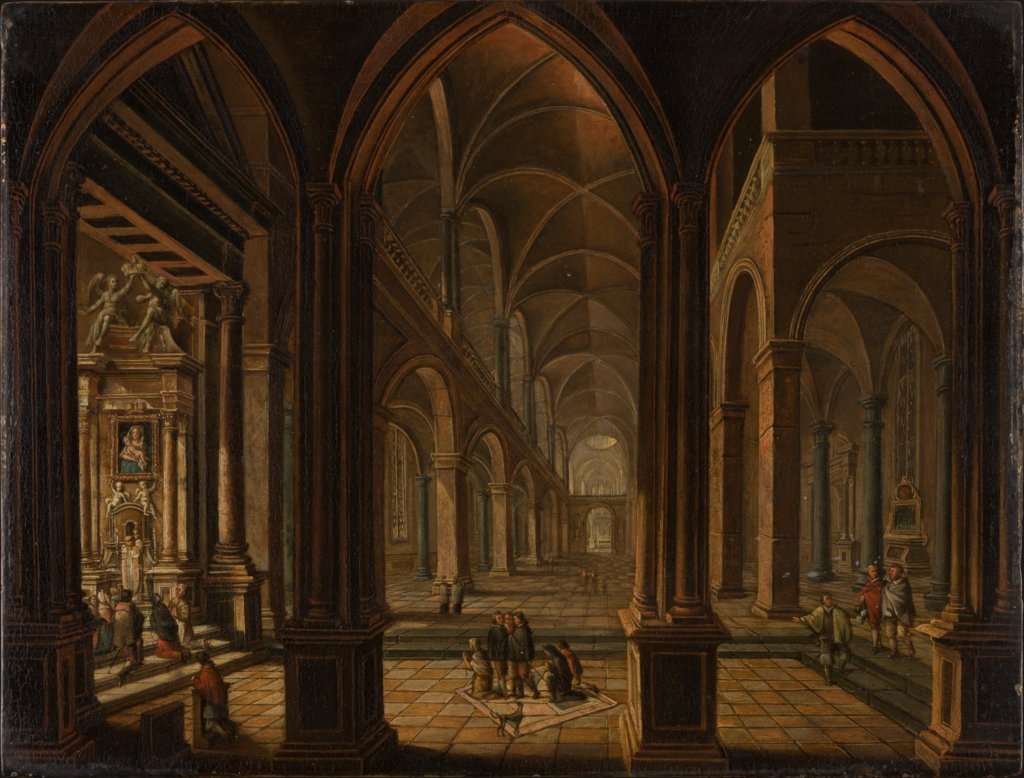 Church Interior, Christian Stöcklin