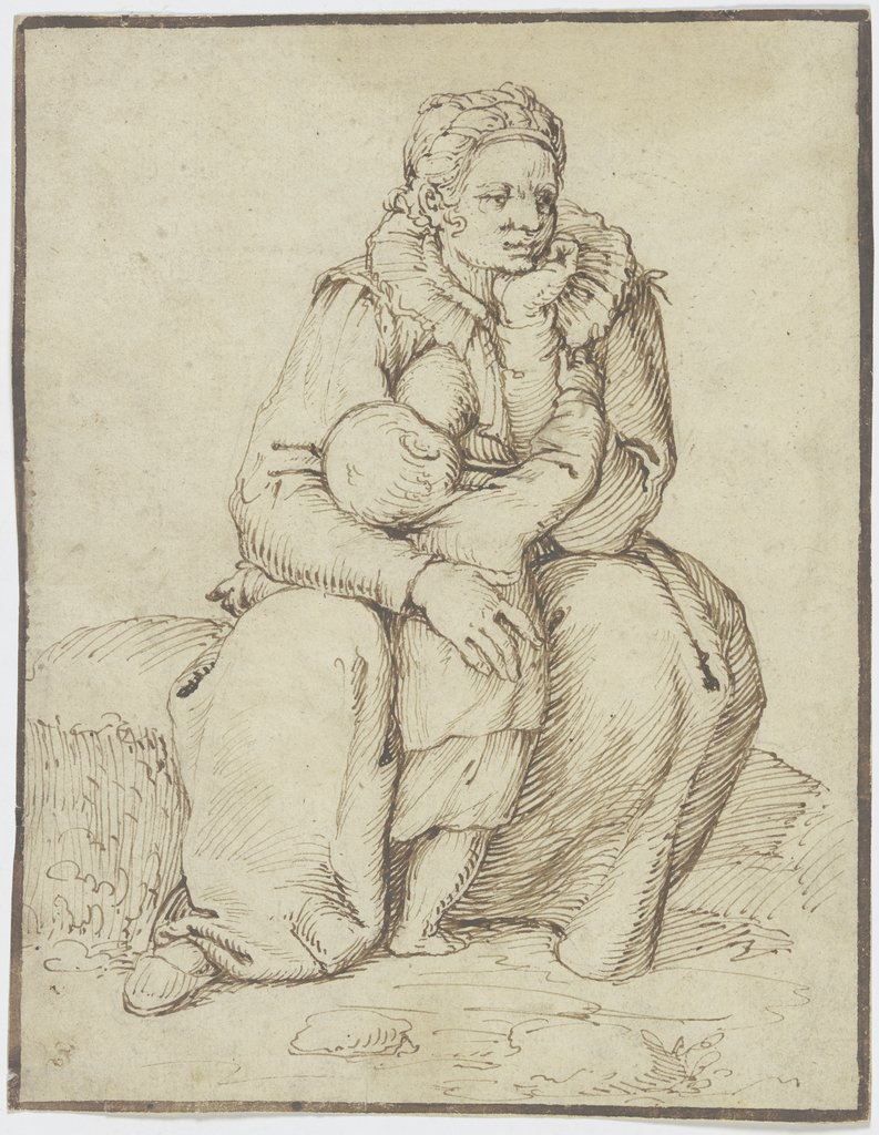 Mother and child, Jacques de Gheyn I