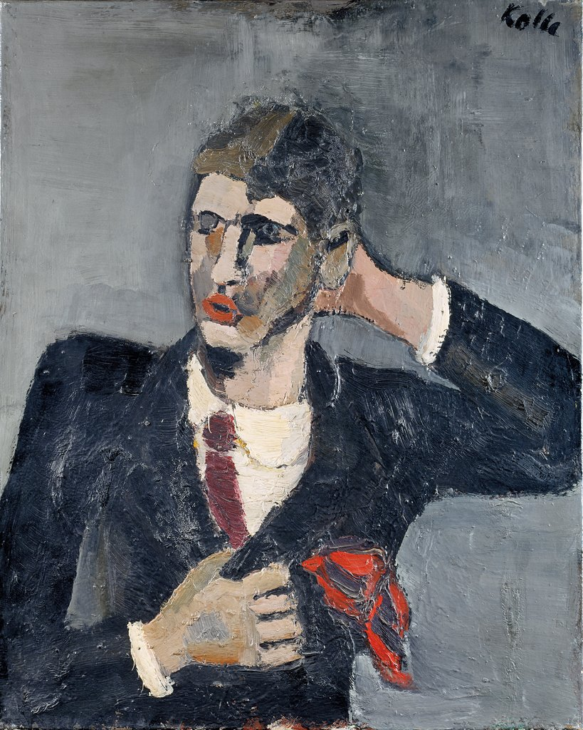 Self-portrait, Helmut Kolle