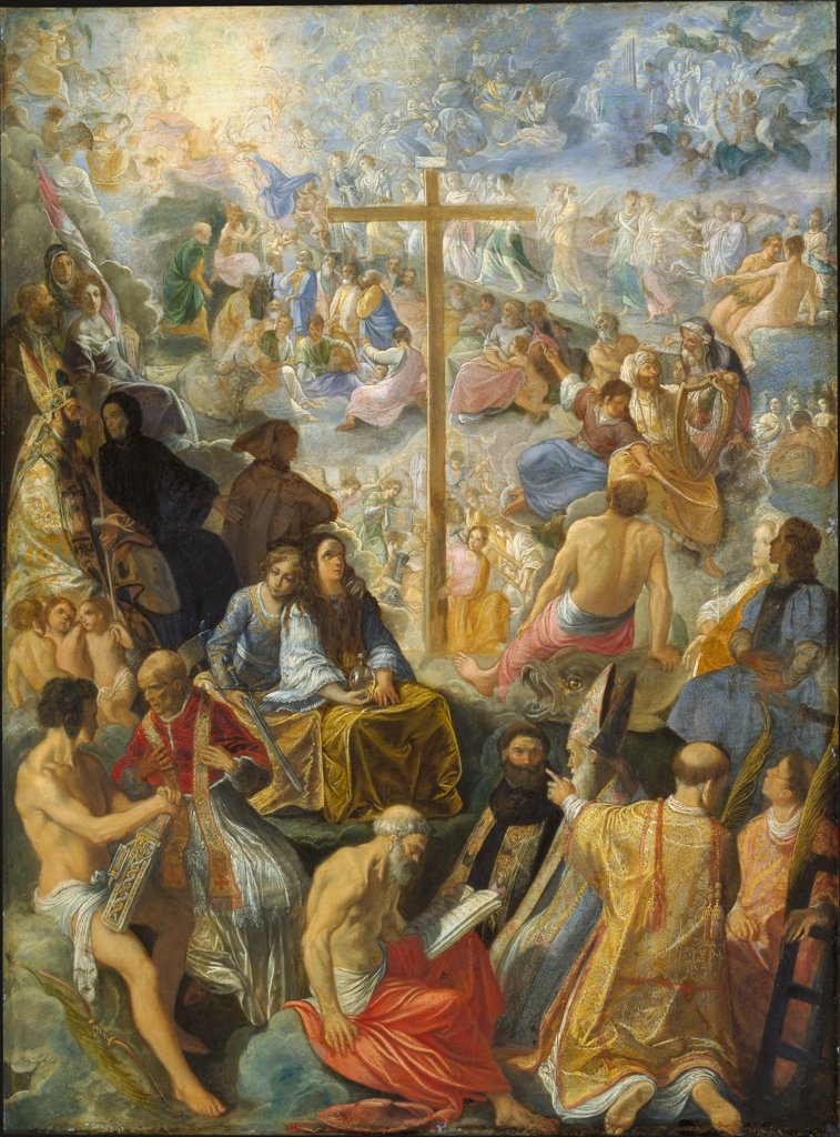 The Frankfurt Altarpiece of the Exaltation of the True Cross, Adam Elsheimer
