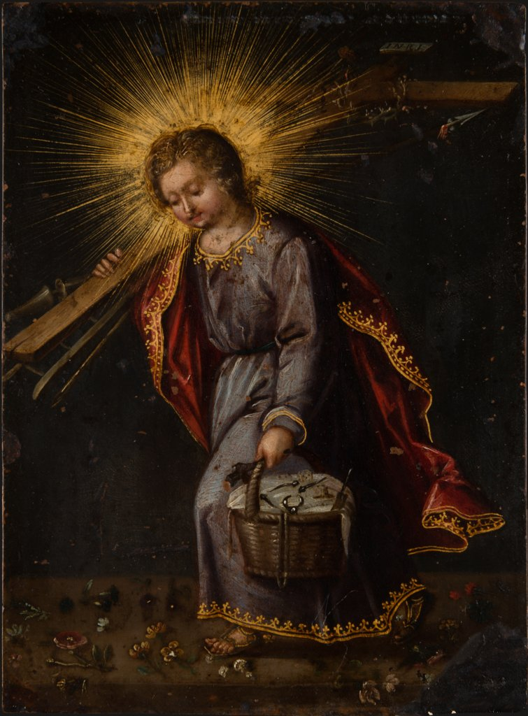 The Christ Child Carrying Passion Instruments, German (?) Master of the First Half of the 17th Century