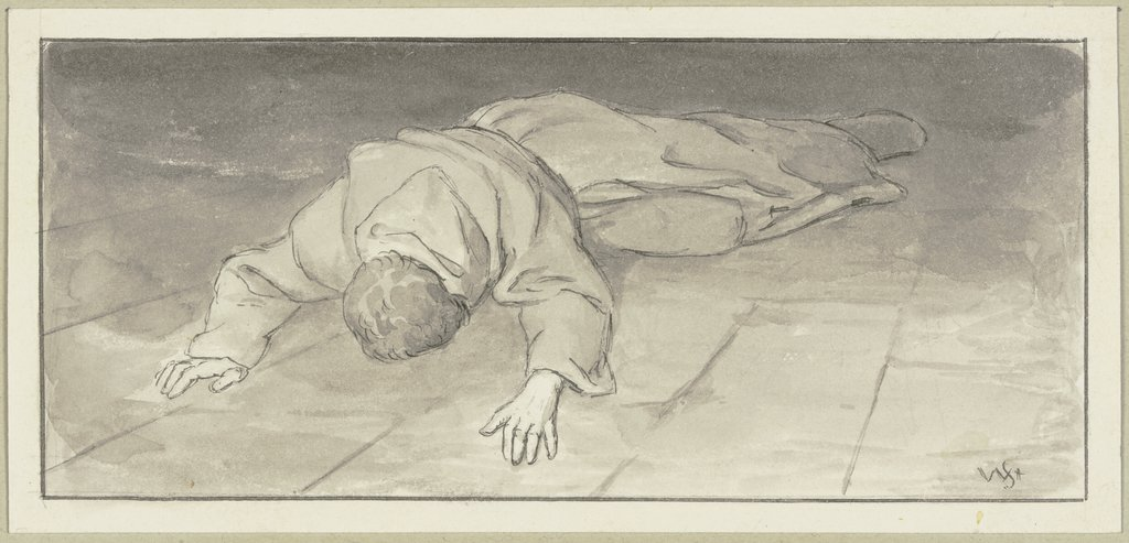 Diether's lamentation and penance, Wilhelm Steinhausen