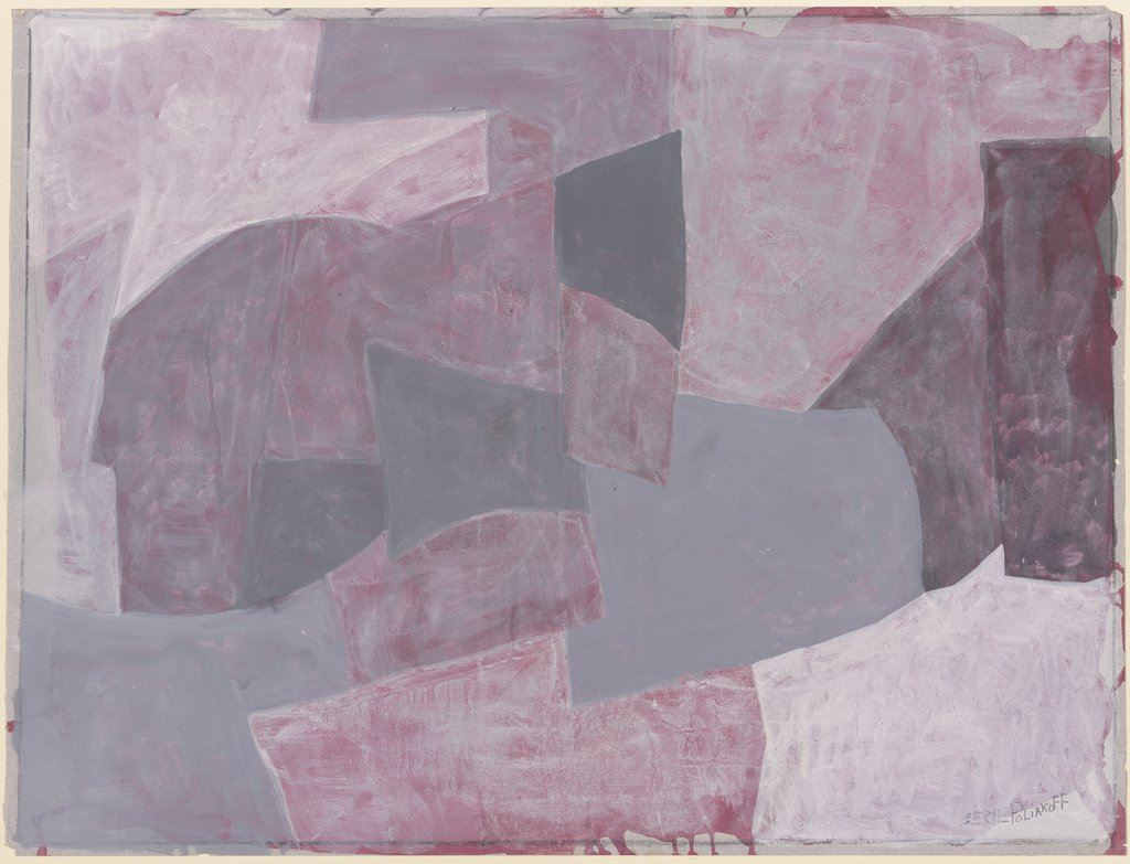 Rouge et gris, Serge Poliakoff