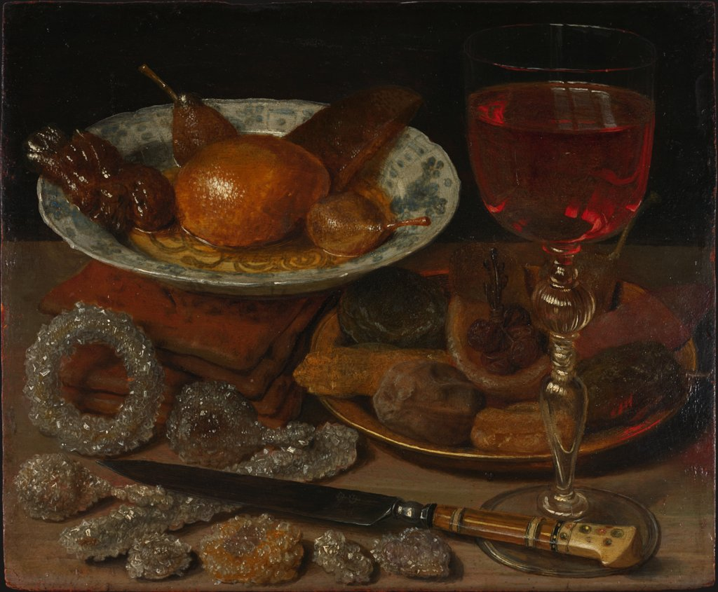 Still Life with Fruit and Sweetmeats, Georg Flegel