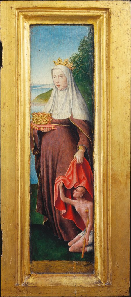 St Elizabeth, Dutch or Lower-Rhenish Master around 1510