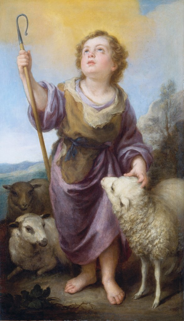 The Good Shepherd, Bartolomé Esteban Murillo