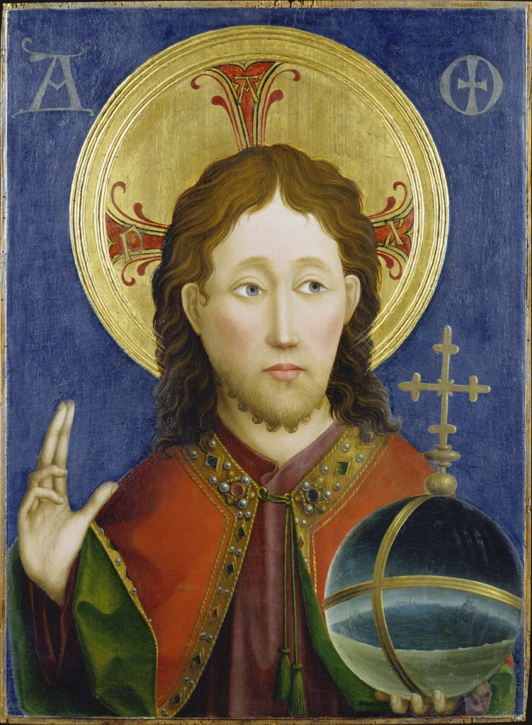 Salvator Mundi, Master of the Darmstadt Passion