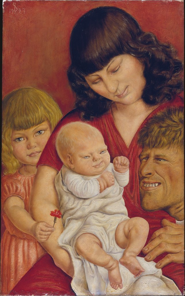 The Artist's Family, Otto Dix