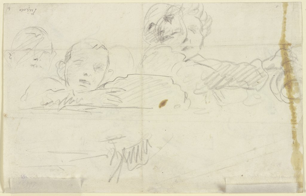 Studies of two figures, Giovanni Battista Tiepolo