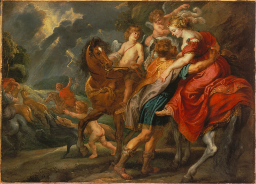 Dido and Aeneas, Jan van den Hoecke   ?