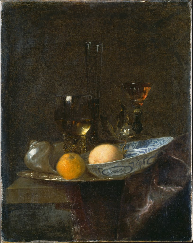 Still Life with Oranges, Willem Kalf  succession