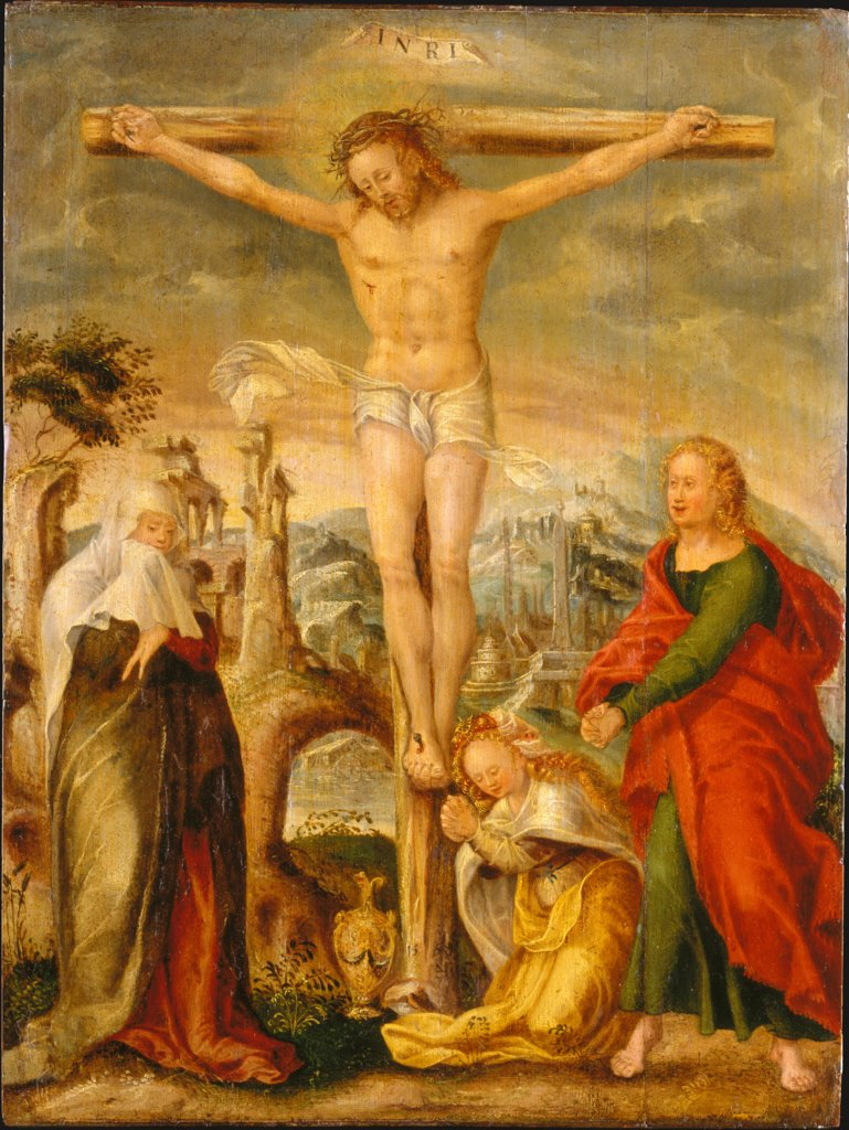 The Crucifixion, Hans Mielich