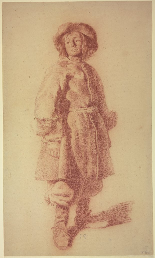 Standing Youth in a Marine Uniform, Moses ter Borch