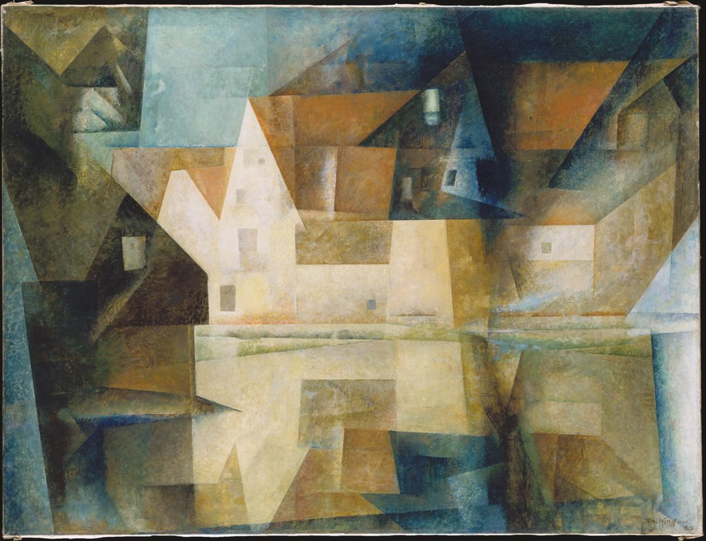 The Village Pond of Gelmeroda, Lyonel Feininger