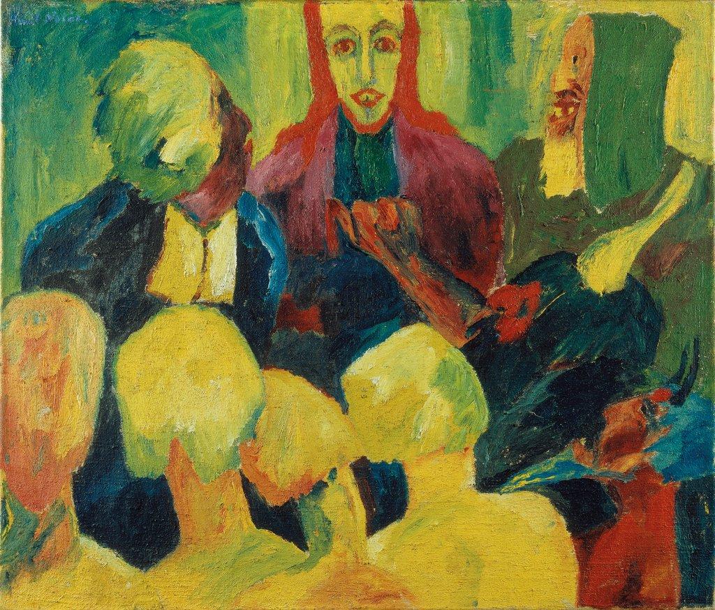 Emil Node: Christus der Unterwelt, Sammlung des Städels