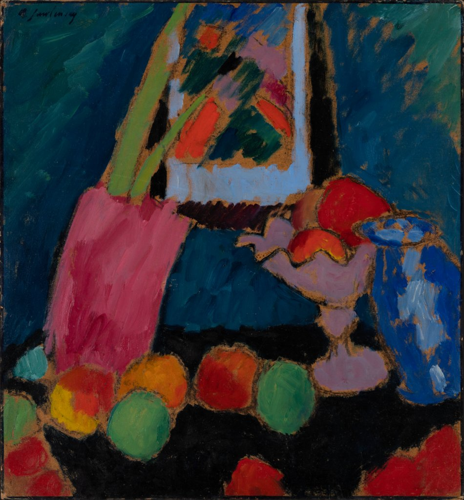 Still Life with a Purple Bowl, Alexej von Jawlensky