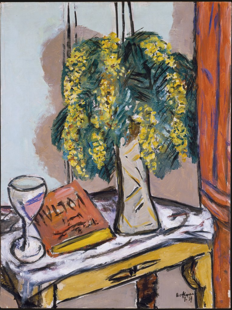 Still Life with Mimosas, Max Beckmann