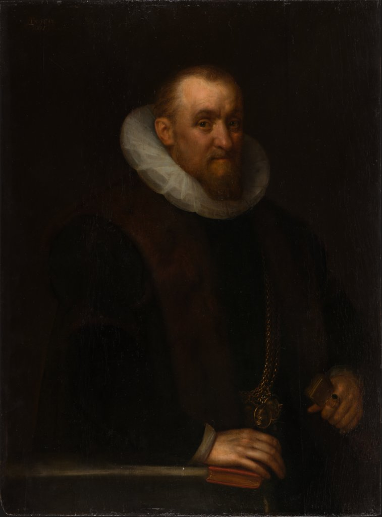 Portrait of a Man, Geldorp Gortzius