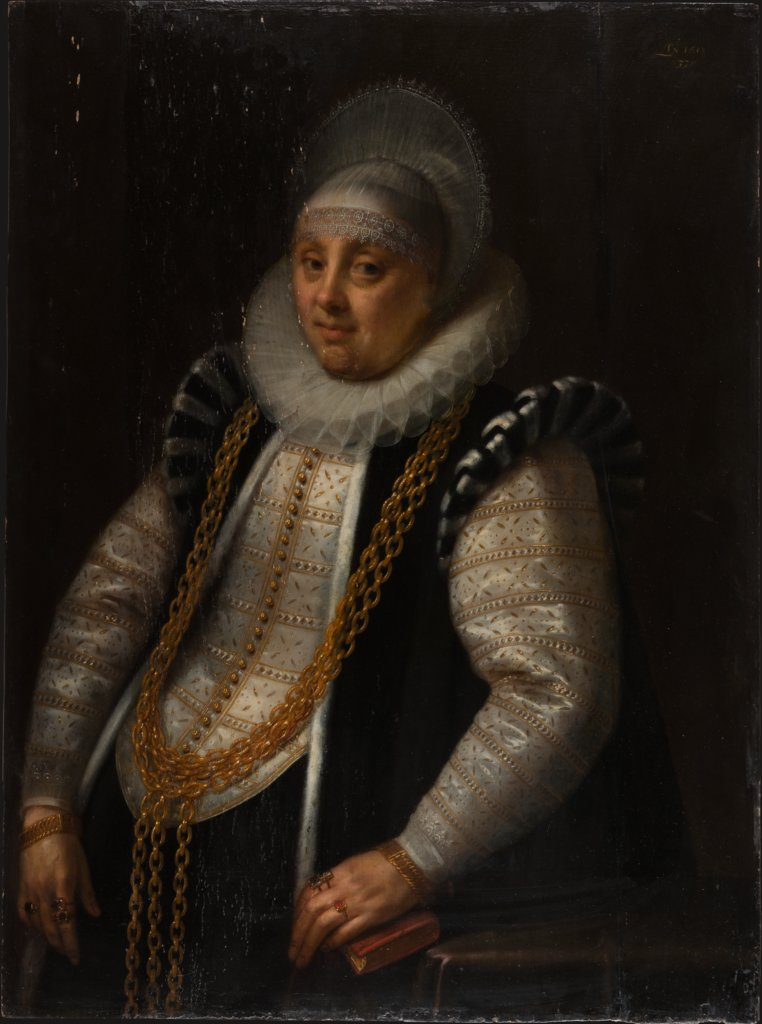 Portrait of a Woman, Geldorp Gortzius