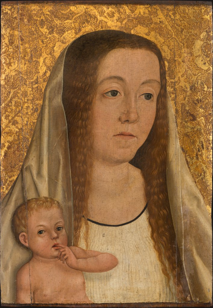 Female Saint with Child, Swabian Master around 1500